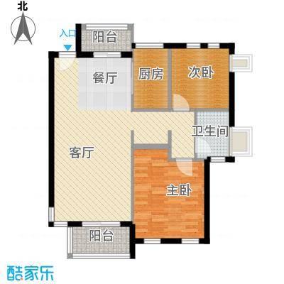 中兴和园77.79㎡户型10室