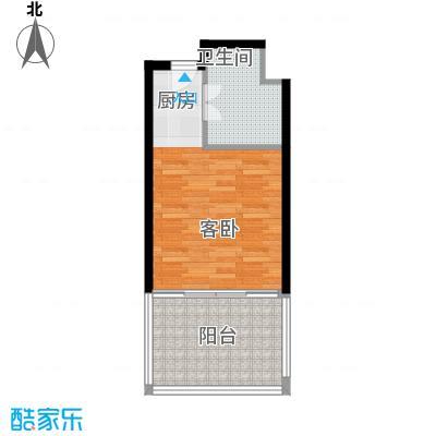 戴斯大卫营48.00㎡酒店精装公寓销售户型1室1卫
