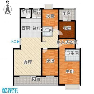 首创玲珑墅139.35㎡A3户型10室