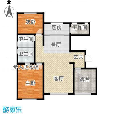 宜和澜岸117.16㎡A3户顶层户型10室