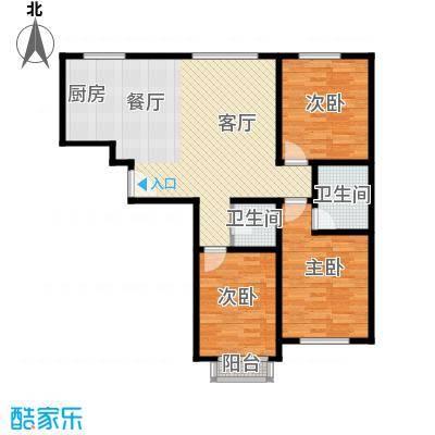 盛唐府邸97.07㎡F-户型10室