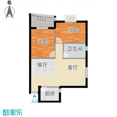银通丽水天成83.99㎡2/3号楼03/04户型10室
