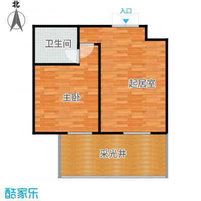 上林溪南区63.00㎡30#楼地下室户型1室1厅1卫