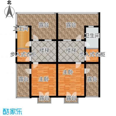 渤海度假村163.83㎡TH3-N三层户型10室