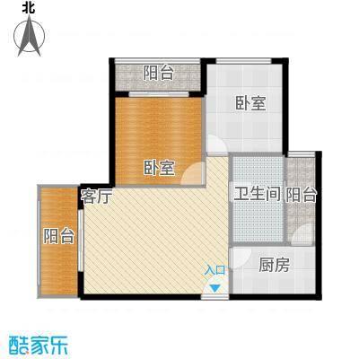 锦绣龙城八期鎏园91.48㎡六期C11户型10室