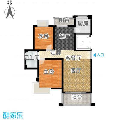 联泰香域滨江92.00㎡户型10室