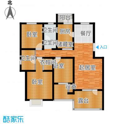 天一绿海138.45㎡户型10室