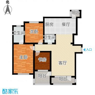 新发翡翠花溪135.63㎡户型10室