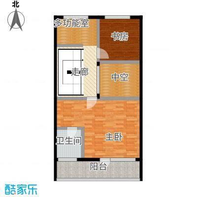 富士庄园三期樱花墅78.86㎡联排别墅42、43、48#楼三层户型3室7厅3卫