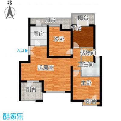 景瑞阳光尚城98.00㎡户型10室