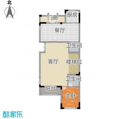 中惠团泊湾375.00㎡C1花园层平面图户型10室