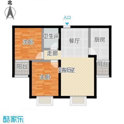 捷瑞新时代99.87㎡捷瑞新时代户型图c2'户型2室2厅1卫1厨(3/11张)户型10室