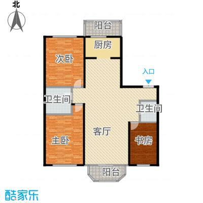 晨光国际花园148.84㎡-1户型3室1厅2卫