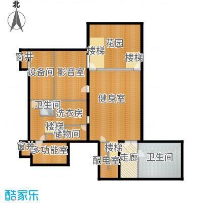 富力湾・半岛别墅207.28㎡C2地下一层户型10室