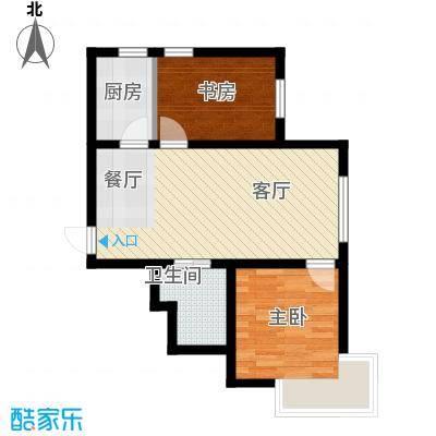 东远国际花园55.88㎡户型10室