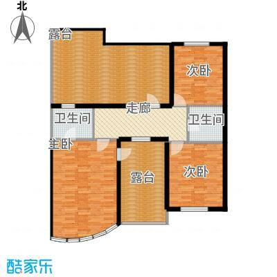 蓝筹海218.90㎡Y6二层户型10室