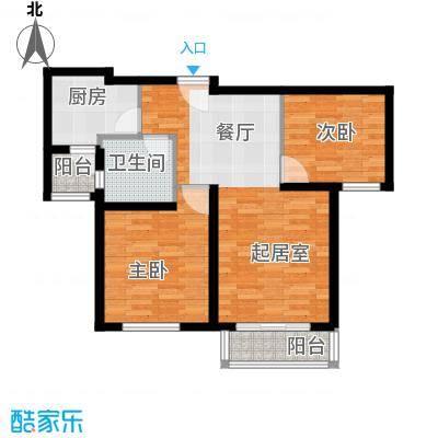 清谷71.55㎡户型10室