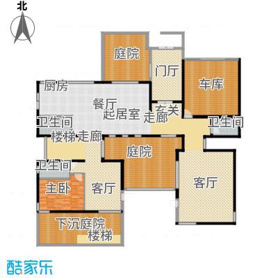 北京御墅346.04㎡C首层公共礼宾功能户型10室
