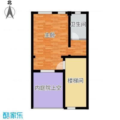 恒盛尚海湾滨海60.30㎡北区C1三层户型10室