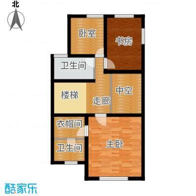 中信�台81.42㎡dp1叠上叠-4层户型10室