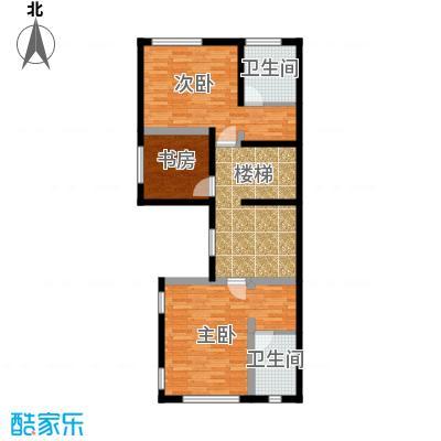 恒盛尚海湾滨海84.34㎡北区C2二层户型10室