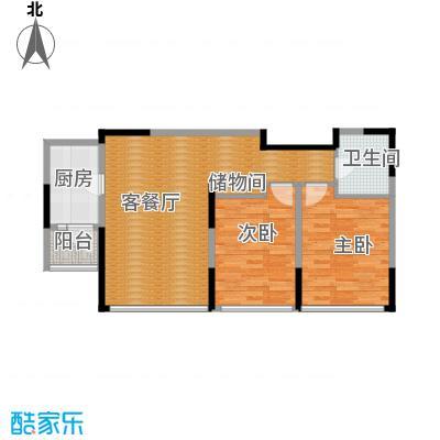 景瑞阳光尚城76.91㎡9-A2户型10室