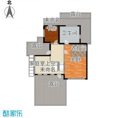 富力湾・半岛别墅175.68㎡D1三层户型10室