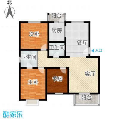 天一海馨园114.47㎡户型10室
