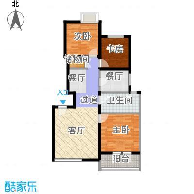 景瑞阳光尚城85.22㎡户型10室