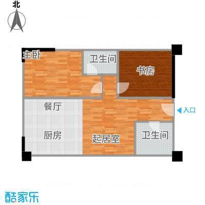 官邸3号101.50㎡b(售罄)户型10室