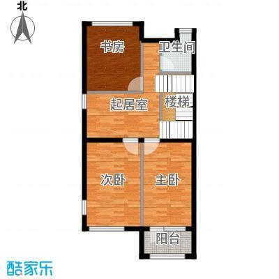 北京湾72.23㎡A3二层户型10室