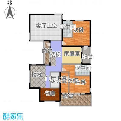 富力湾・半岛别墅196.40㎡D2二层户型10室
