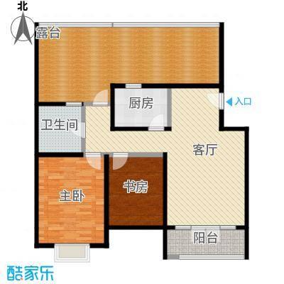 天一海馨园110.67㎡-户型10室