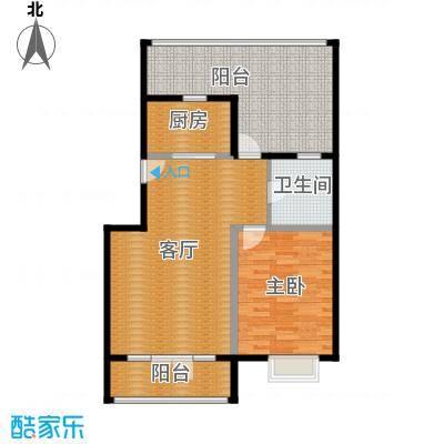天一海馨园86.50㎡-户型10室