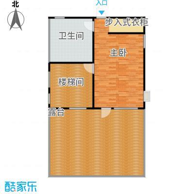 龙顺御墅307.00㎡A1三层平面图户型3室2厅1卫