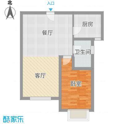 中建御邸世家56.93㎡户型10室