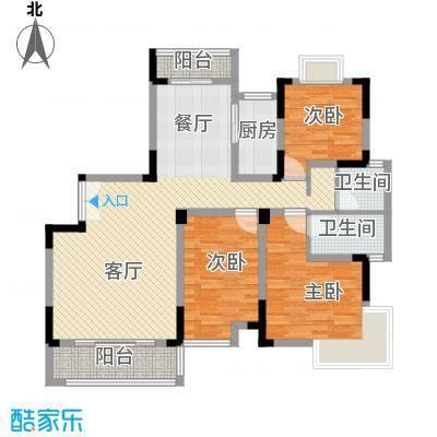联泰香域滨江121.93㎡尚品B3户型10室