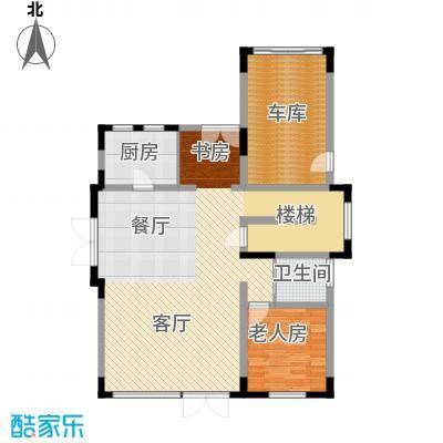 艾维诺森林109.84㎡独栋K一层户型1室2厅