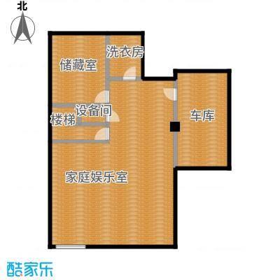 艾维诺森林119.38㎡类独栋A地下一层户型3室