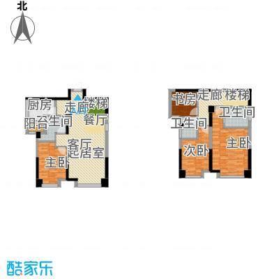 保利百合花园101.00㎡A5/6户型4室2厅3卫