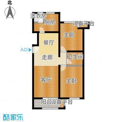 龙湖・香醍溪岸洋房108.90㎡户型10室