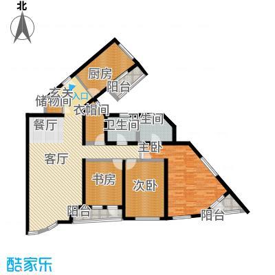 仁恒海河广场141.09㎡1号楼D-1户型10室