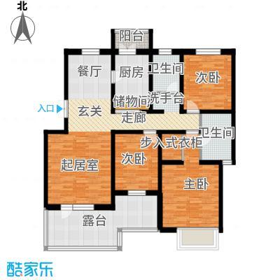 天一绿海138.14㎡户型10室