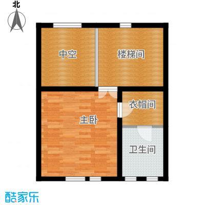 中信公园城54.12㎡L3一层户型10室