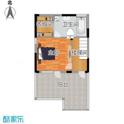 北京湾71.67㎡A3三层户型10室