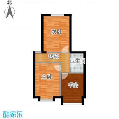 星河18562.00㎡C2夹层户型3室1卫