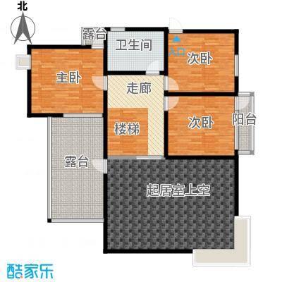 龙顺御墅140.25㎡A1二层平面图户型10室