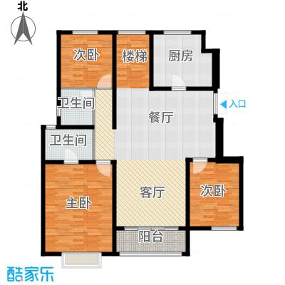 吉宝季景兰庭120.40㎡户型10室