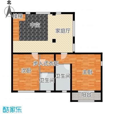 时光墅99.95㎡C二层平面图户型10室