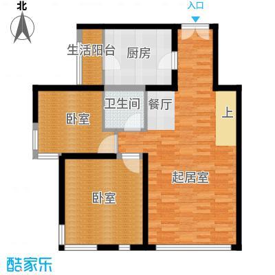 北京奥林匹克花园87.21㎡b1边1-sy下层户型10室